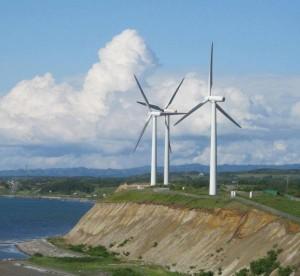 日本では自然エネルギーが冷遇されてきた=北海道苫前町